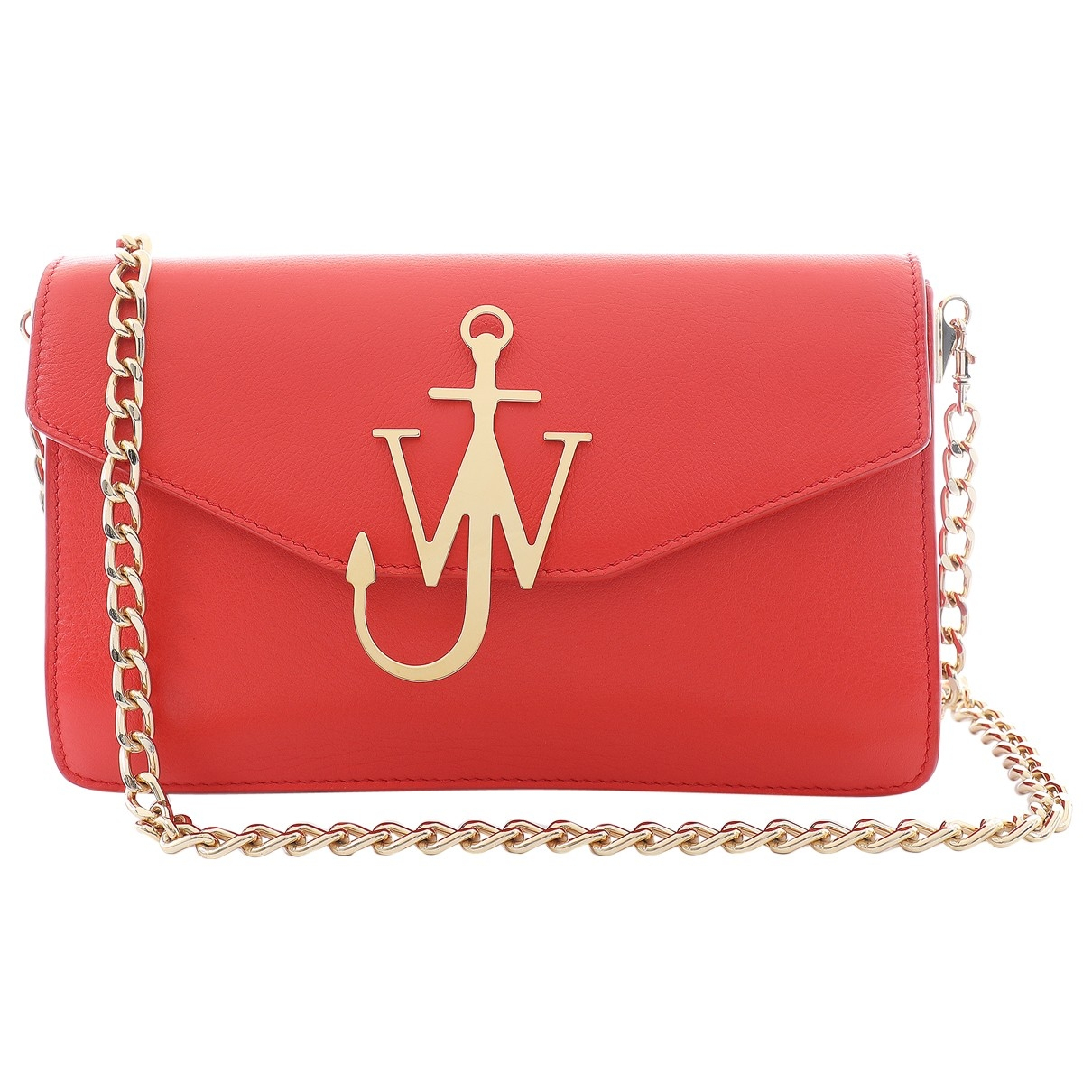 J.w. Anderson - Sac a main Logo pour femme en cuir - rouge