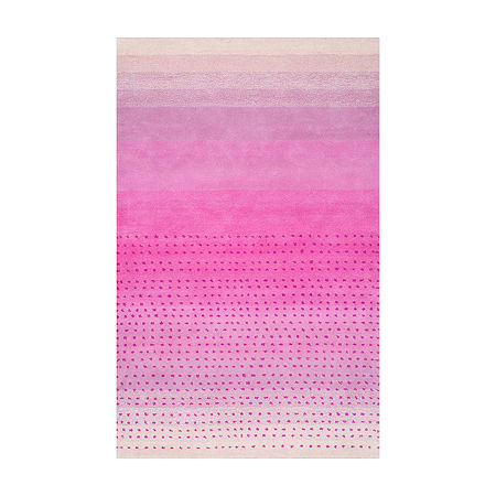 nuLoom Hand Tufted Blush Rug, One Size , Pink