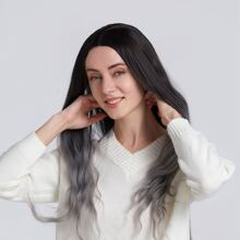 1pc Ombre Long Curly Wig