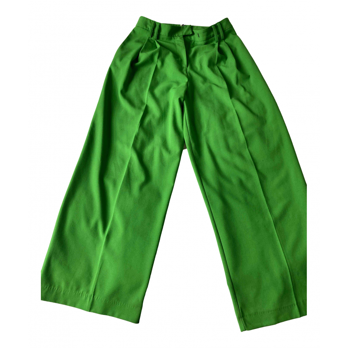 tophop N Green Trousers for Women 10 UK