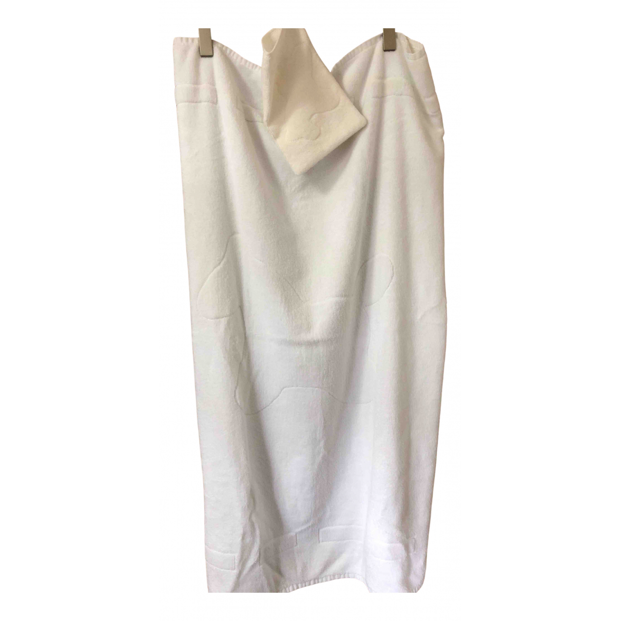Hermes - Linge de maison   pour lifestyle en coton - blanc
