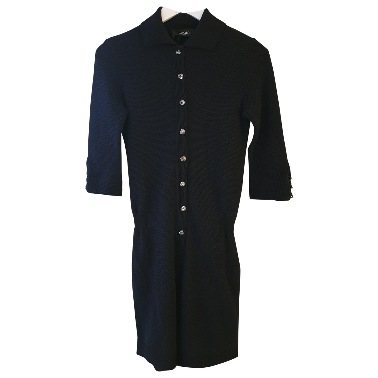 Azzaro \N Black Cashmere jumpsuit for Women 36 FR