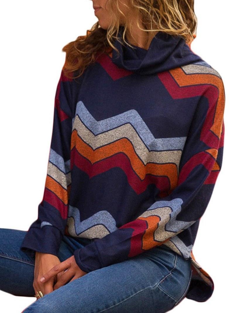 Ericdress Loose Casual Geometric Knitwear