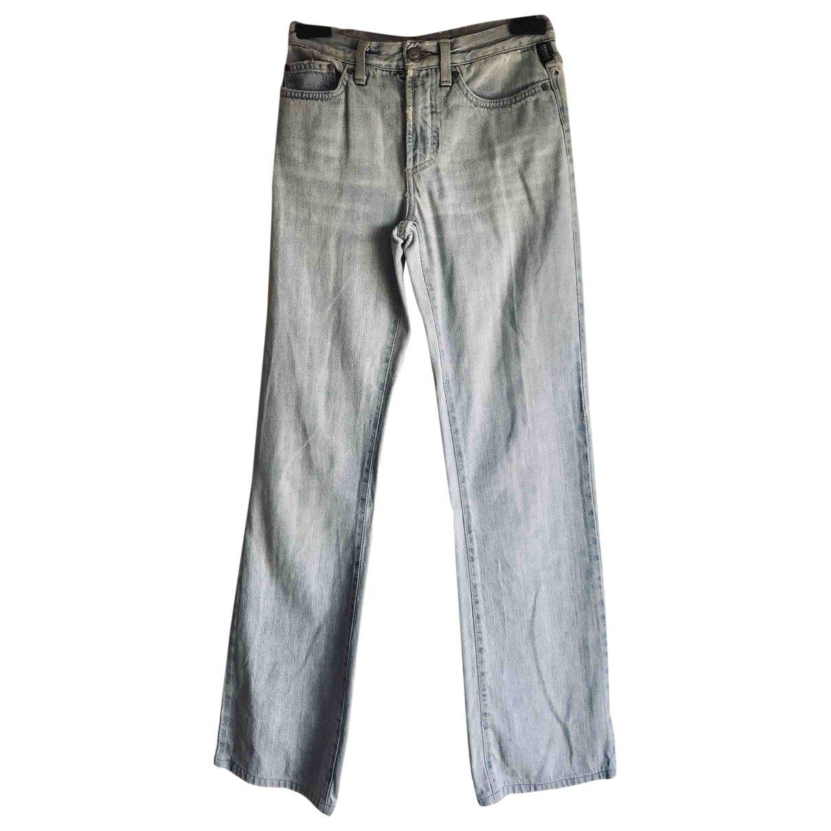 Versace Jeans \N Blue Denim - Jeans Jeans for Women 40 FR