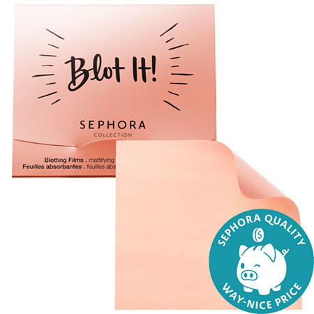SEPHORA COLLECTION Blot It! Mattifying Blotting Paper Films, One Size , Multiple Colors