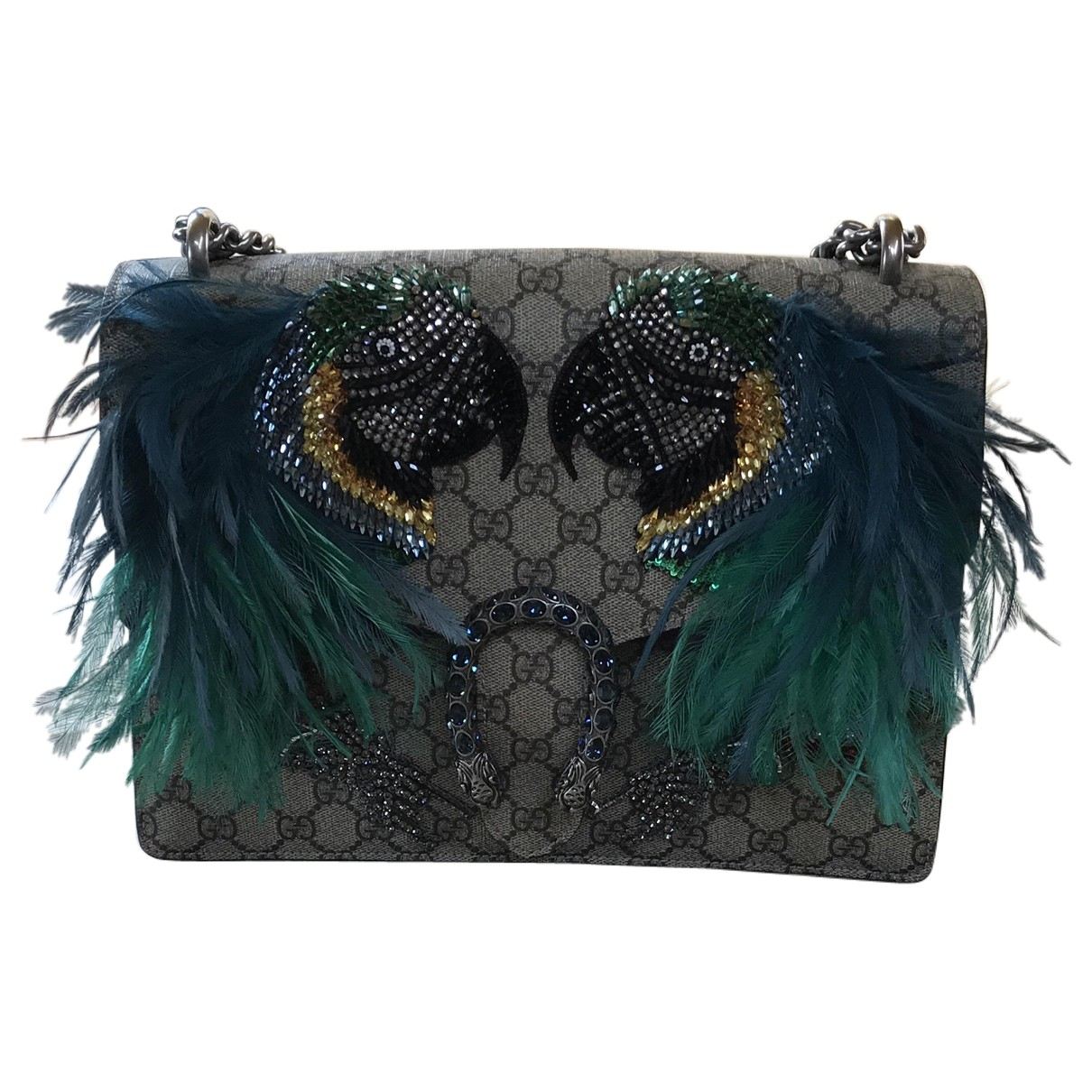 Gucci Dionysus Cloth Clutch bag for Women N