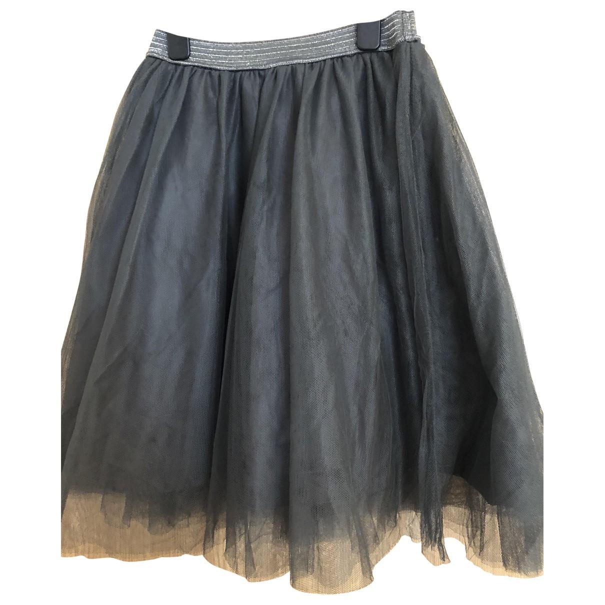 Massimo Dutti - Jupe   pour femme - gris