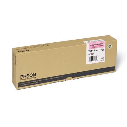 Epson T591600 cartouche d'encre UltraChrome originale magenta clair vivace