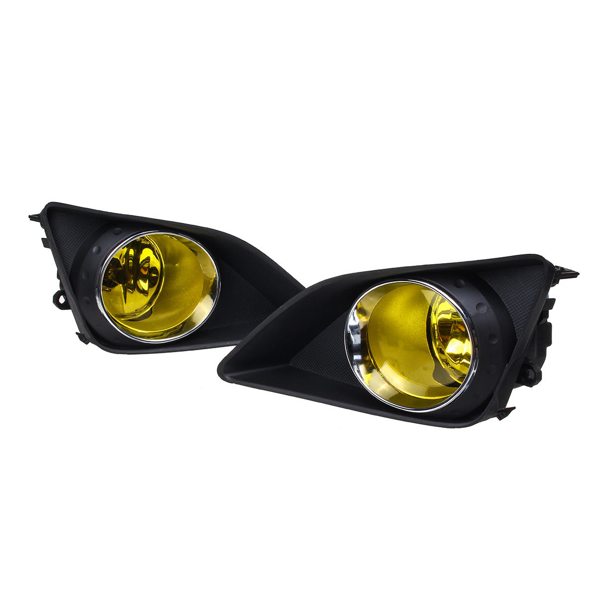 Car Front Bumper Fog Lights Lamp with Cover Bulbs Harness Kit For Toyota Corolla 2009-2010