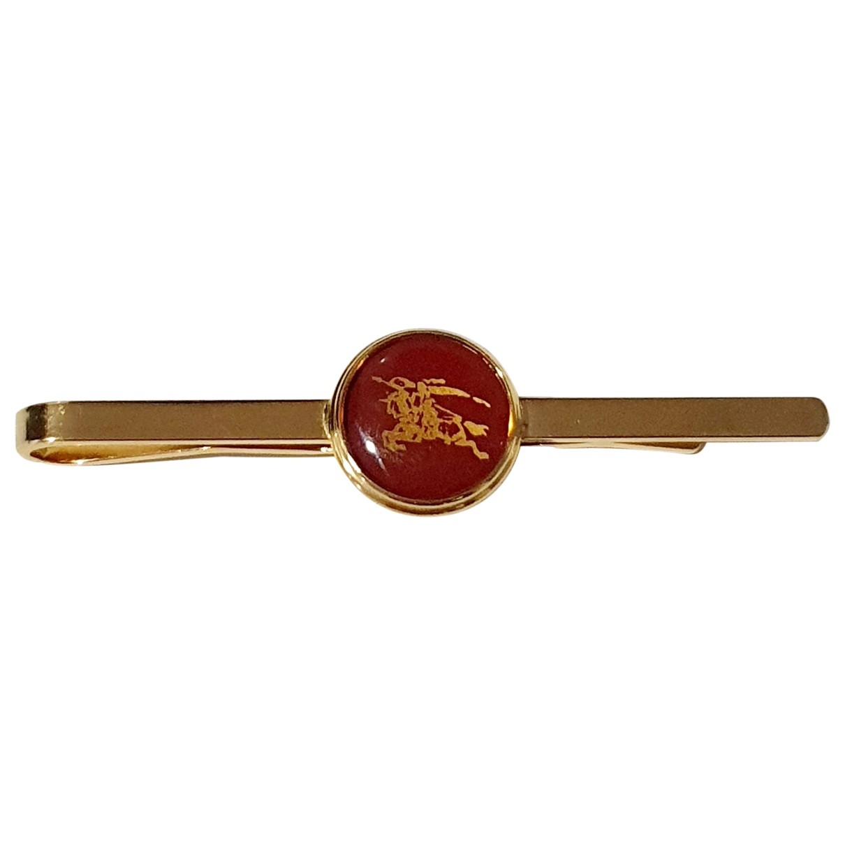 Burberry - Boutons de manchette   pour homme en metal - dore