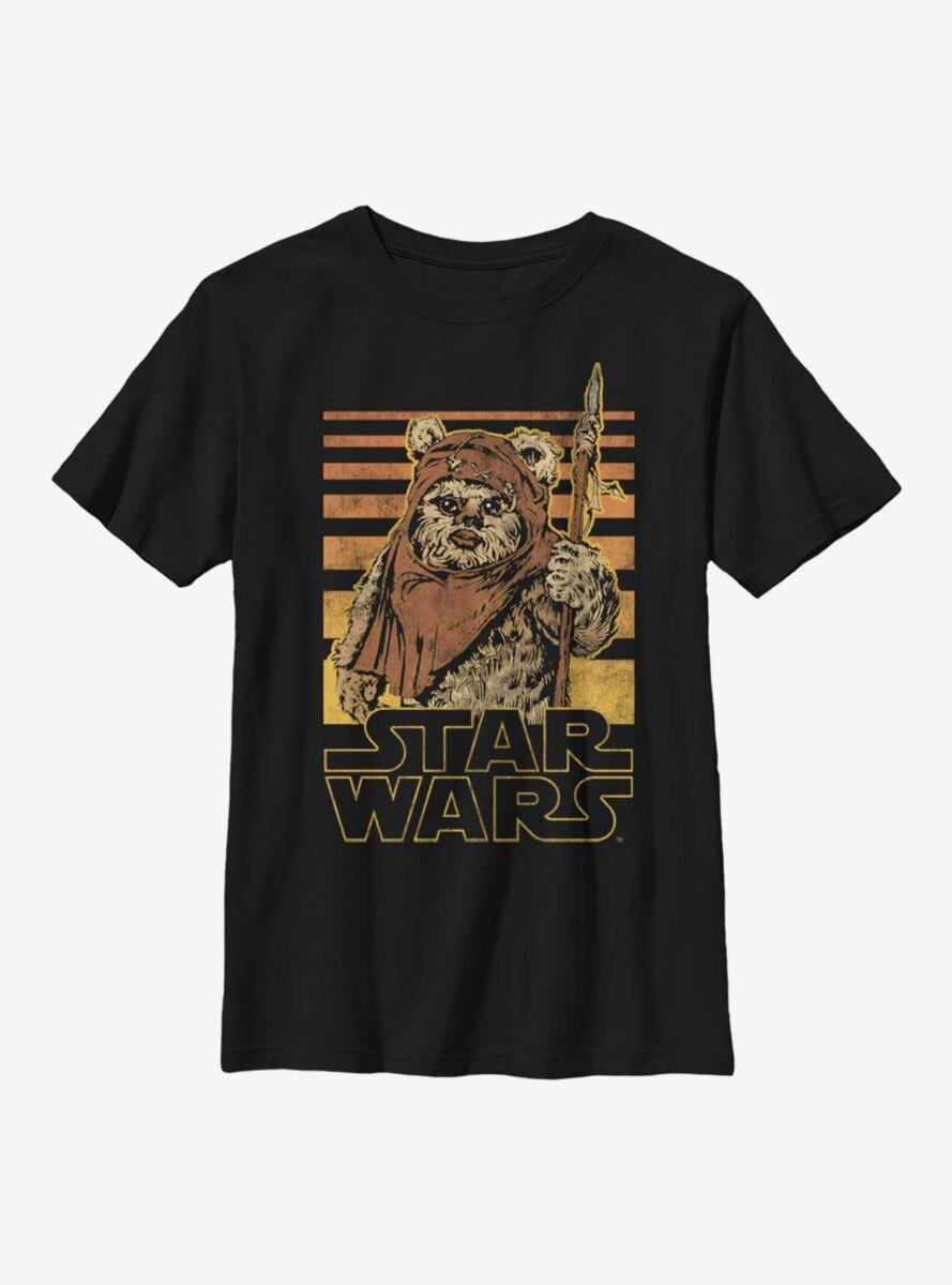 Star Wars Ewok Gradient Youth T-Shirt