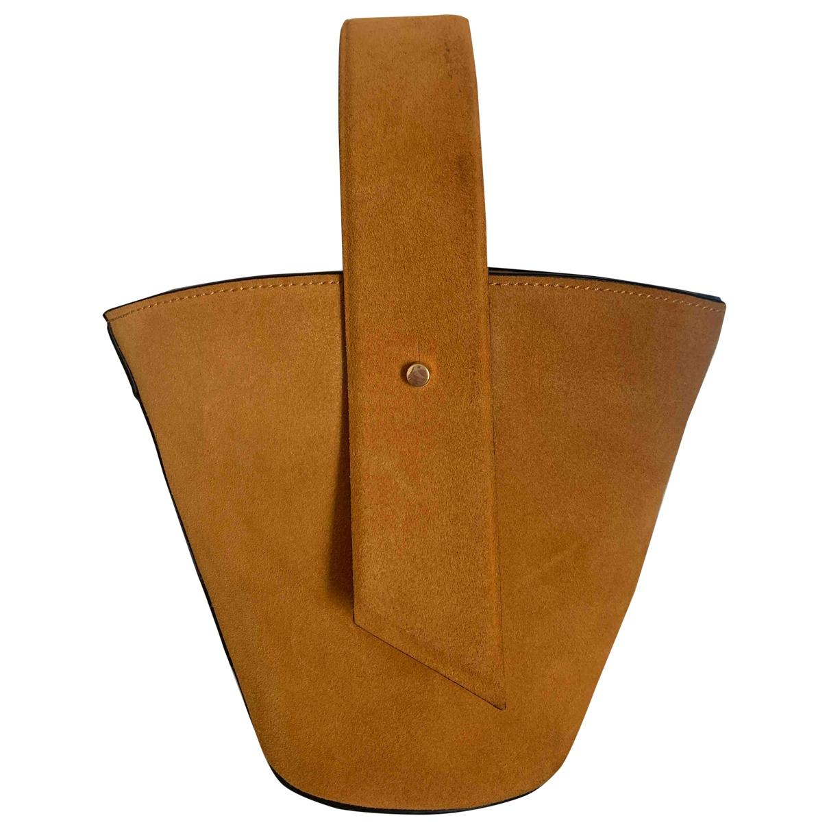 Mango \N Camel Suede handbag for Women \N