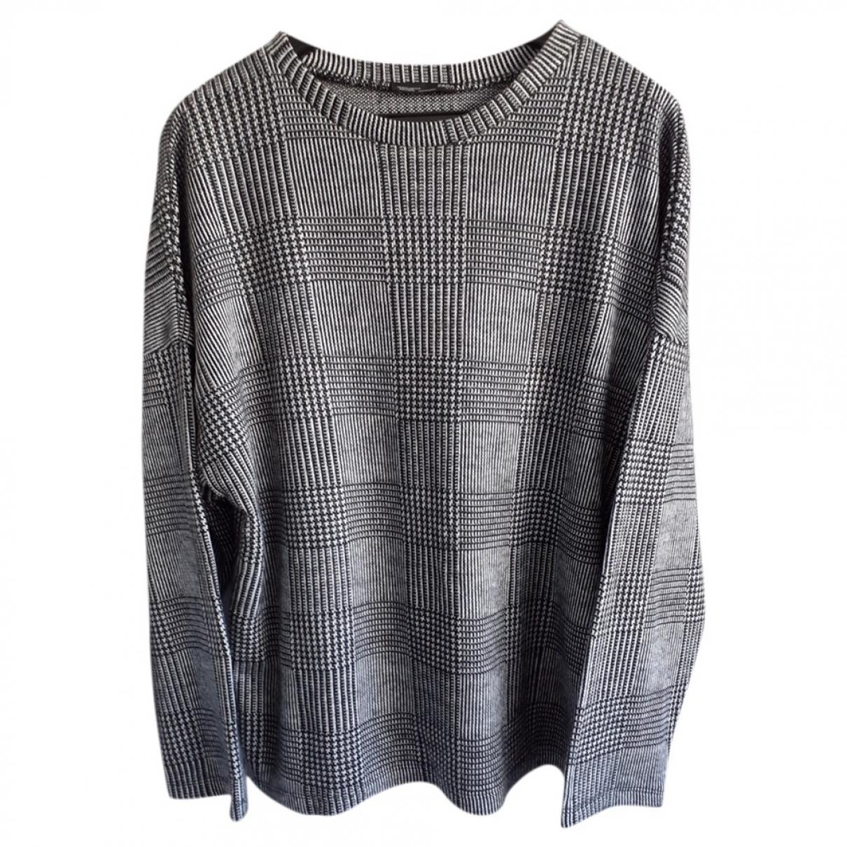 Zara \N Pullover in  Weiss Wolle