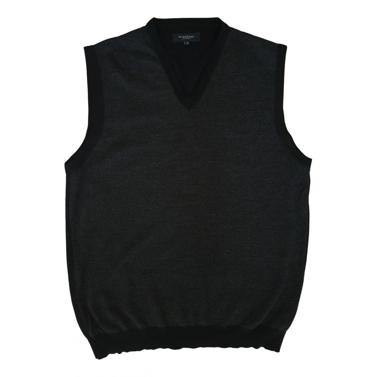 Burberry \N Navy Wool Knitwear & Sweatshirts for Men XL International