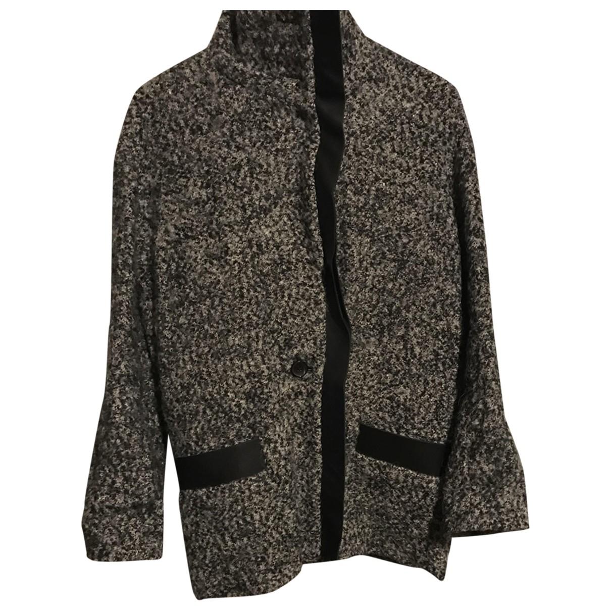 Iro - Manteau   pour femme en laine - gris