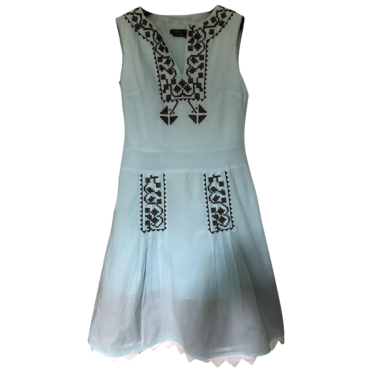 Bcbg Max Azria \N Cotton dress for Women 38 IT