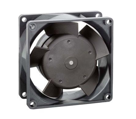 ebm-papst , 24 V dc, DC Axial Fan, 80 x 80 x 32mm, 80m³/h, 6W, IP20