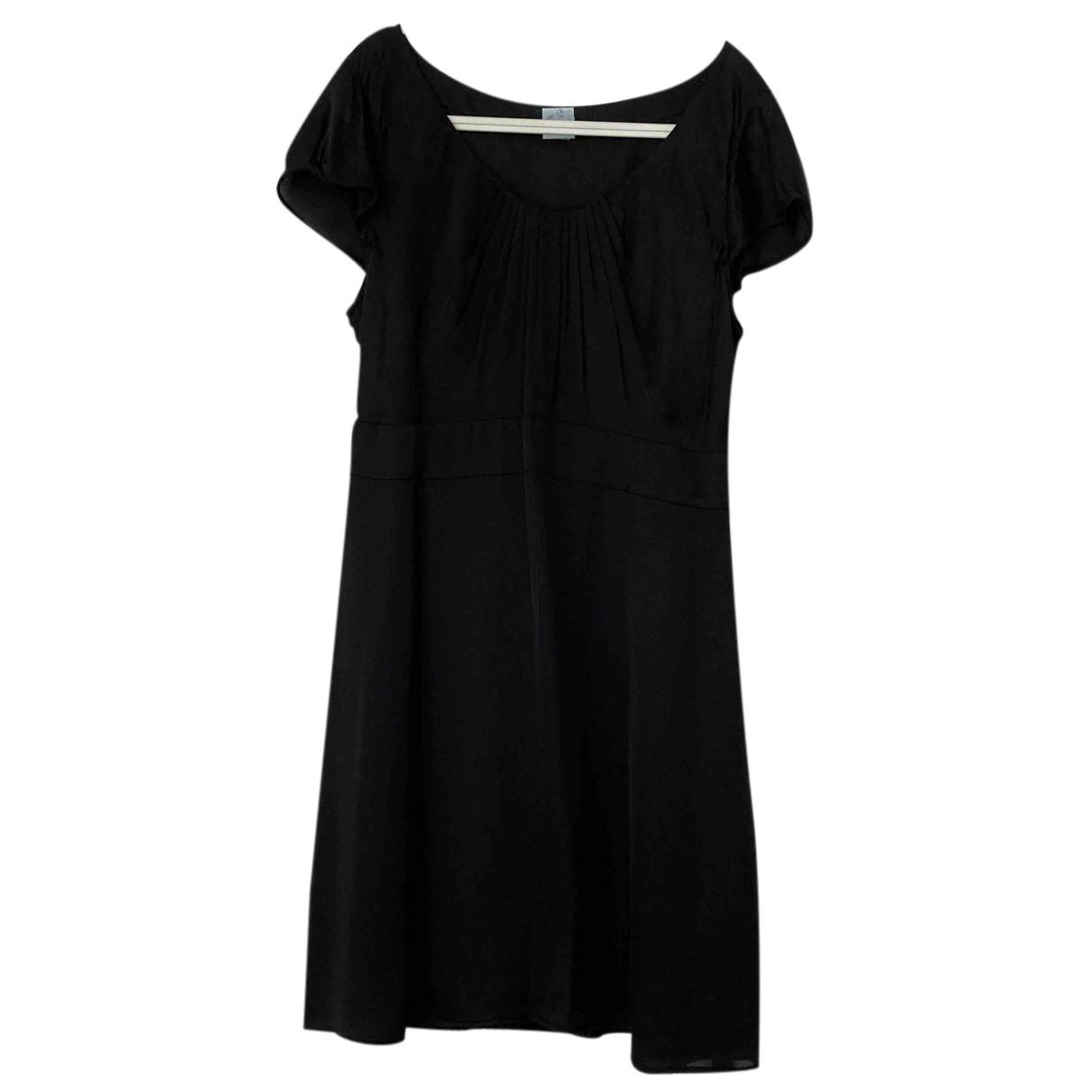Autre Marque - Robe   pour femme en soie - noir