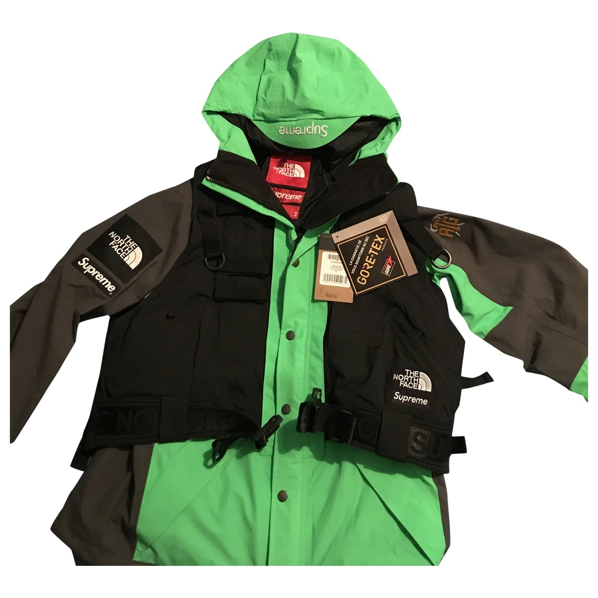 Supreme X The North Face \N Jacke in  Gruen Synthetik