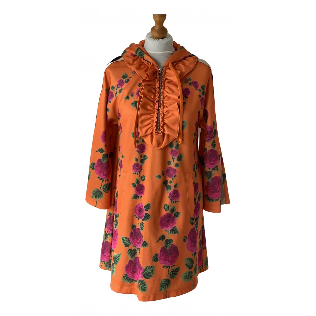 Gucci \N Kleid in  Orange Baumwolle