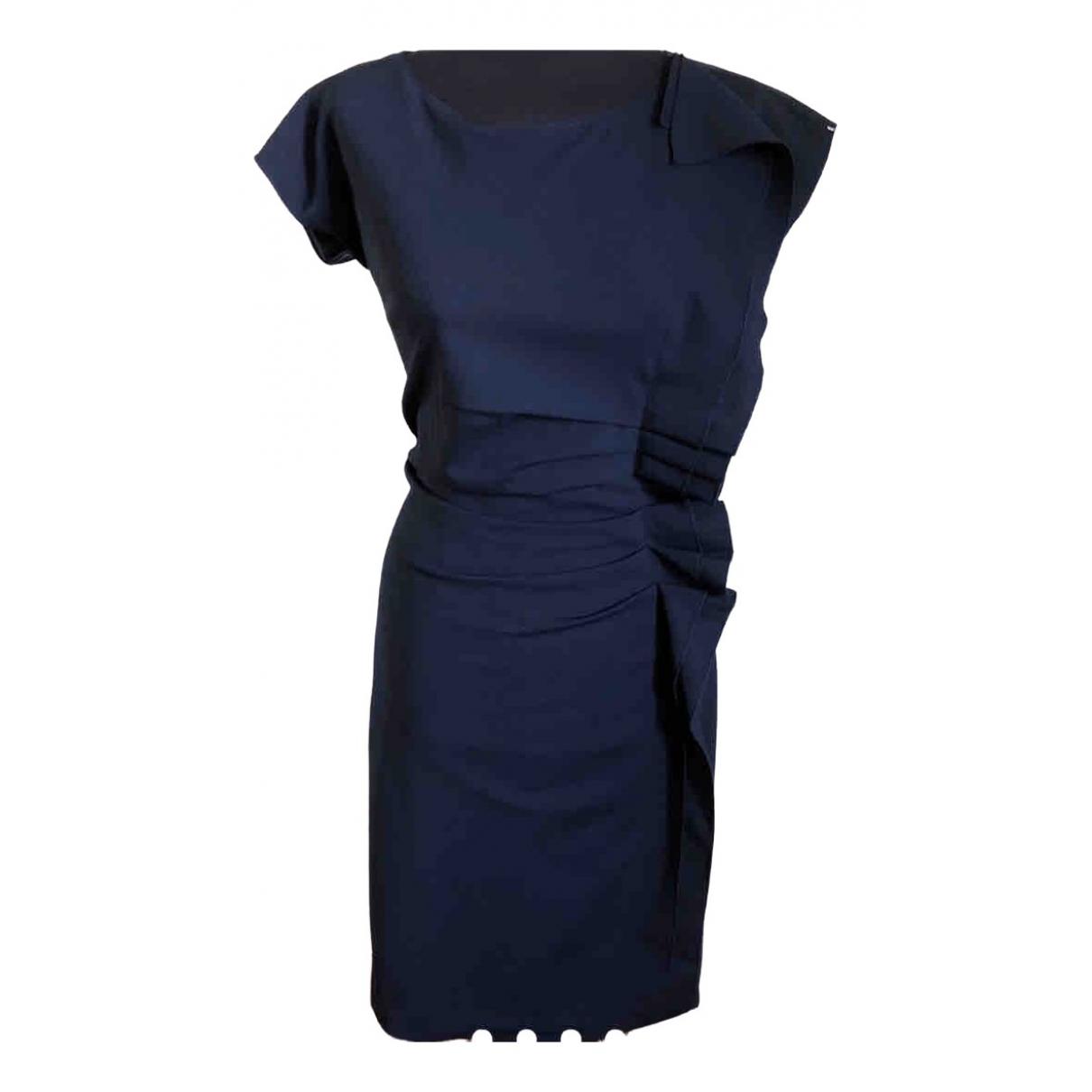 Sport Max \N Kleid in  Blau Wolle