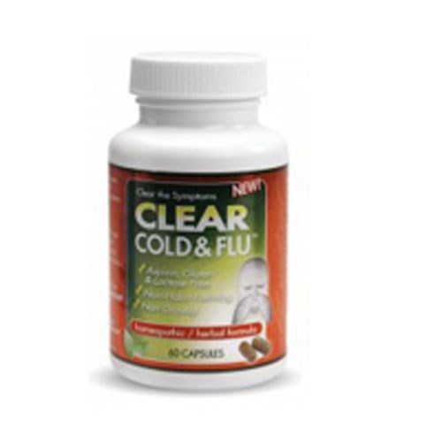 Clear Cold & Flu 60 caps by Clear Products