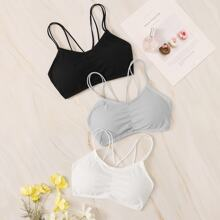 Rib Bra Set 3pack