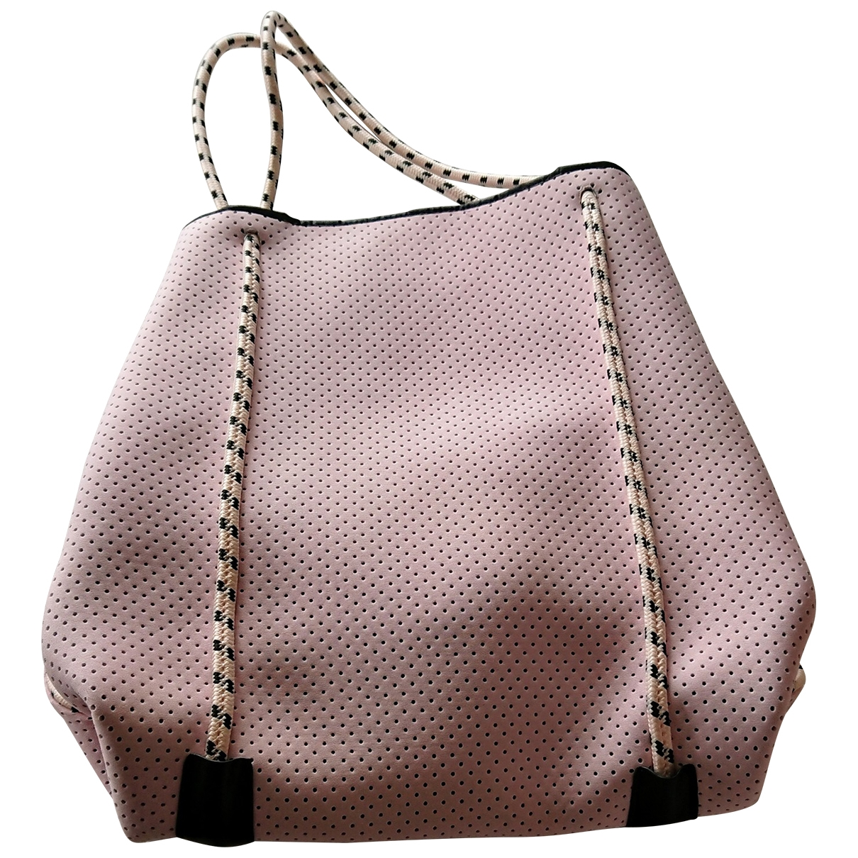 Non Signé / Unsigned \N Pink handbag for Women \N