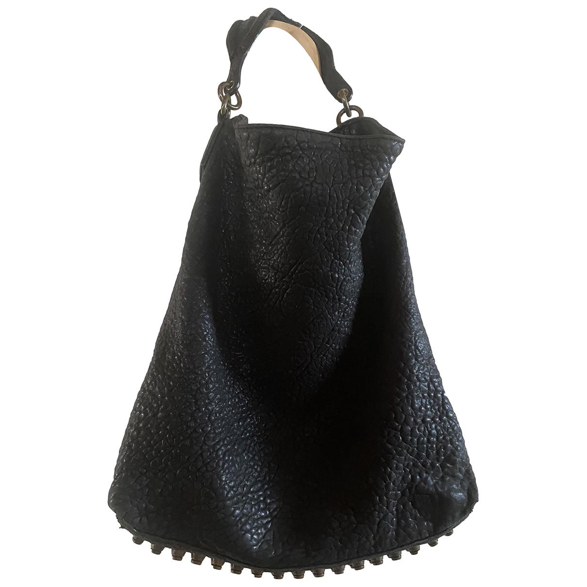 Alexander Wang Darcy Black Leather handbag for Women N