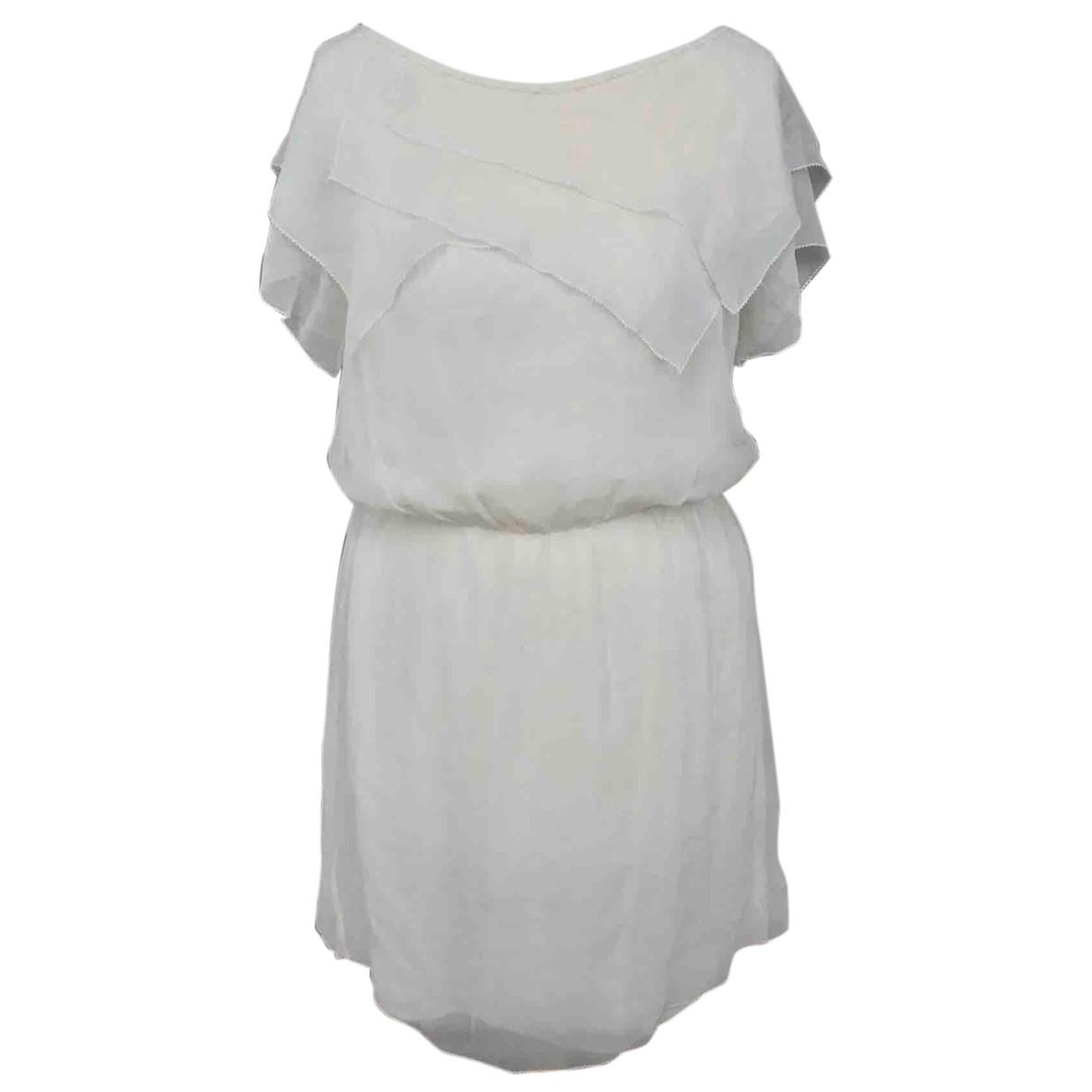 3.1 Phillip Lim - Robe   pour femme en soie - ecru