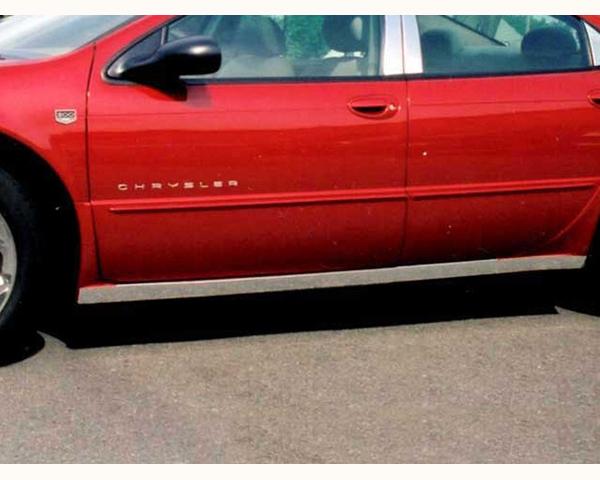 Quality Automotive Accessories 4-Piece Rocker Panel Accent Trim Kit Chrysler 300M 2001