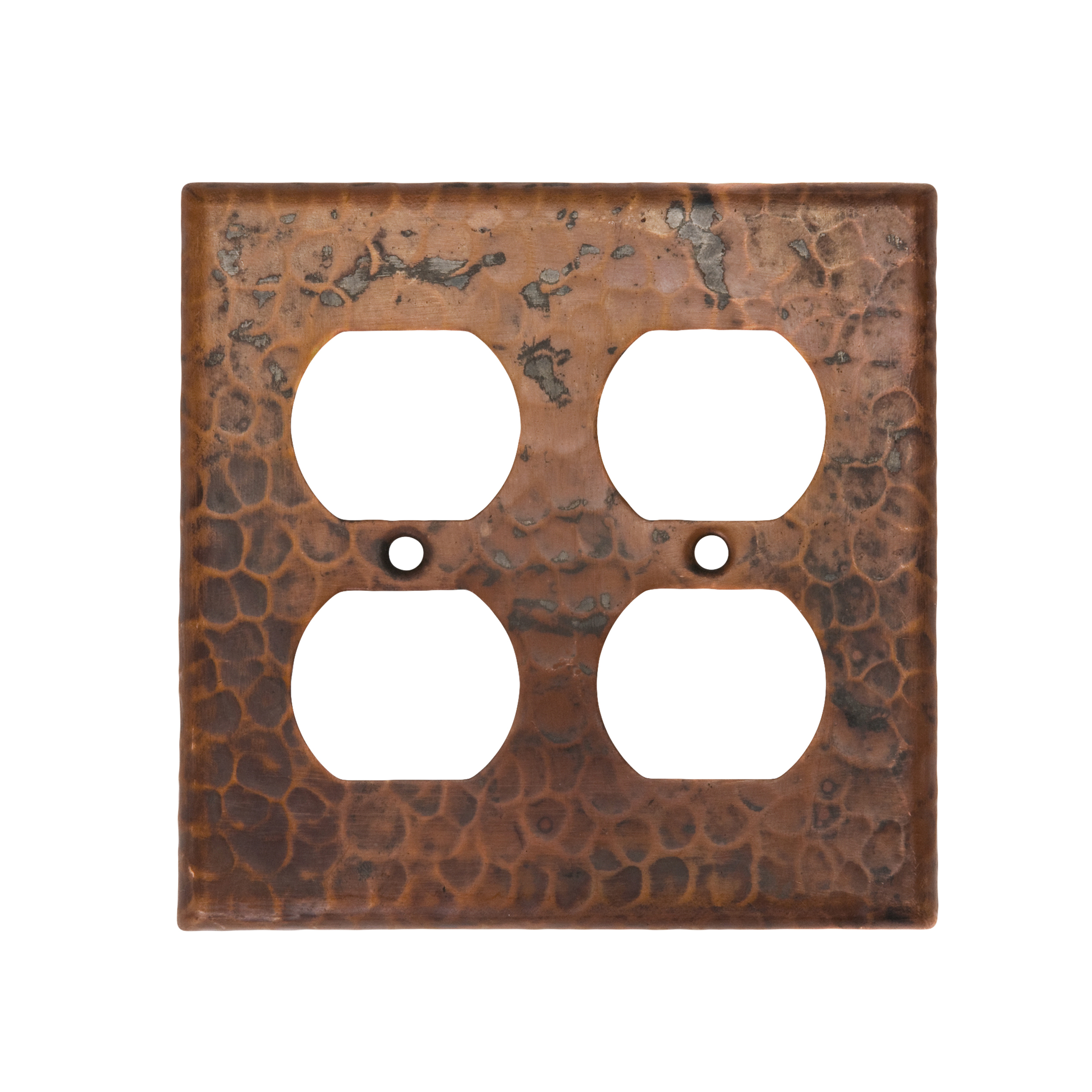 Double Duplex 4-Hole Outlet Switchplate Cover