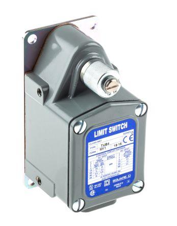 Telemecanique Sensors , Snap Action Limit Switch - Die Cast Zinc, NO/NC, Lever, 600V, IP66