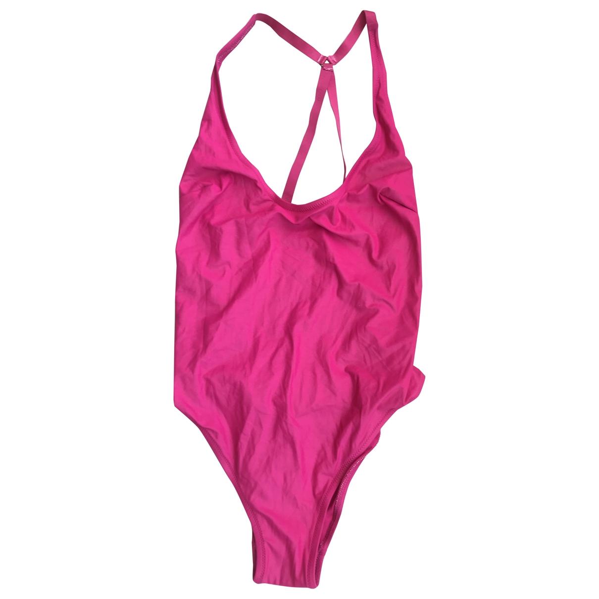 Gianfranco Ferre - Bain   pour femme en coton - elasthane - rose