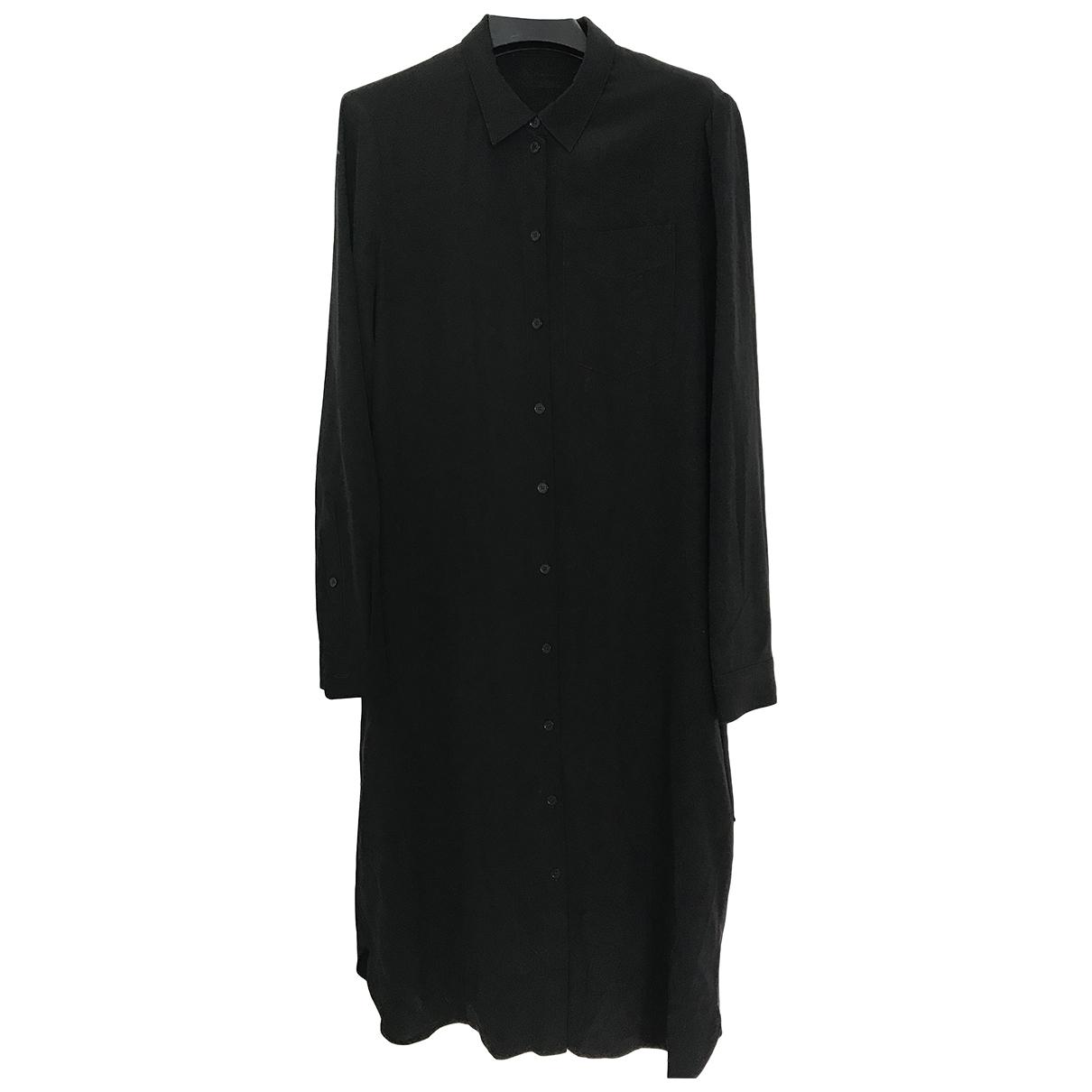Burberry \N Black Silk dress for Women 4 UK
