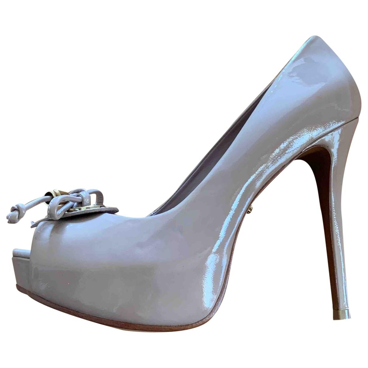 Schutz \N Beige Leather Heels for Women 41 EU