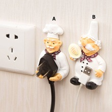 1pc Chef Shaped Wall Hook