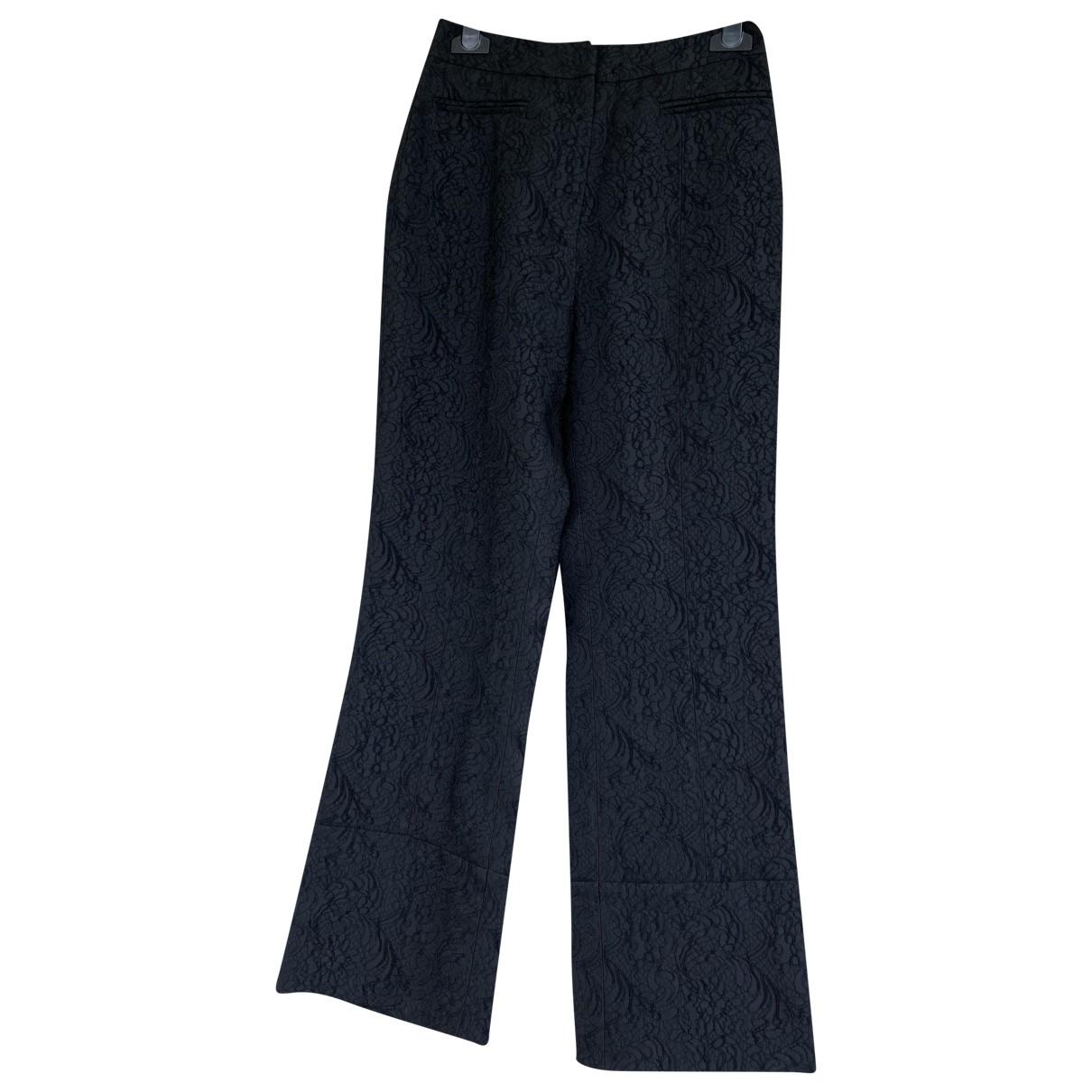 Erdem \N Black Trousers for Women 8 UK