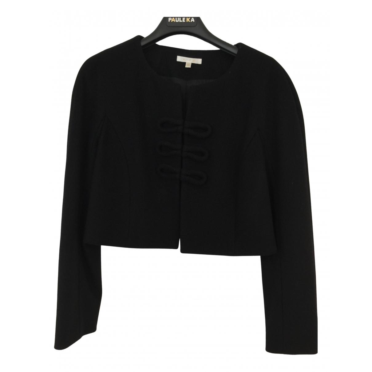 Paule Ka N Black Wool jacket for Women 36 FR