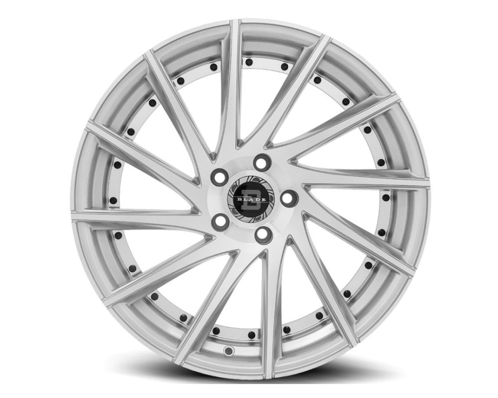 Blade BRVT-457 Tundra Wheel 22x8.5 5x114.3 35mm Silver Machined