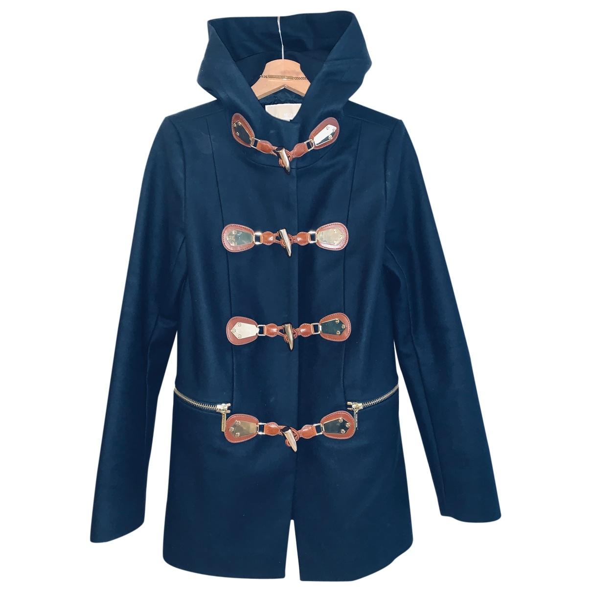Michael Kors \N Navy Wool coat for Women S International