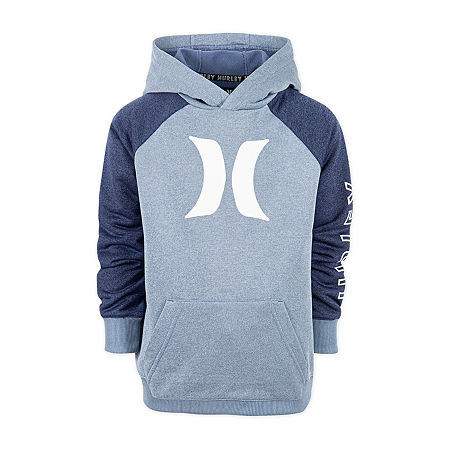 Hurley Big Boys Hoodie, X-large (18-20) , Blue