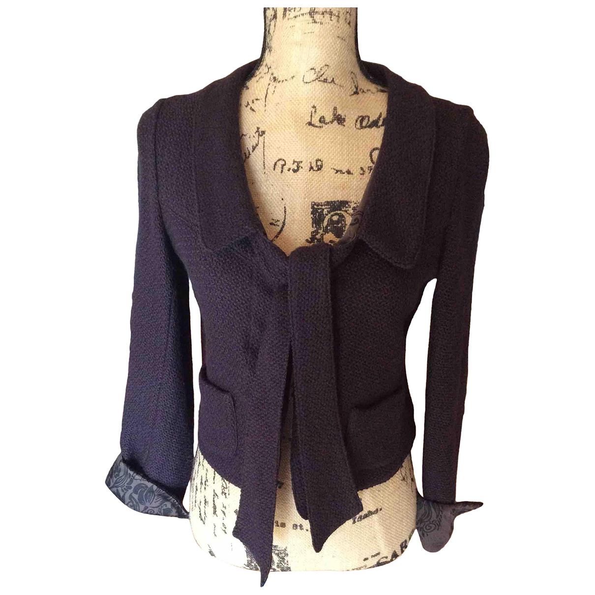 Kenzo \N Brown Wool jacket for Women 38 FR