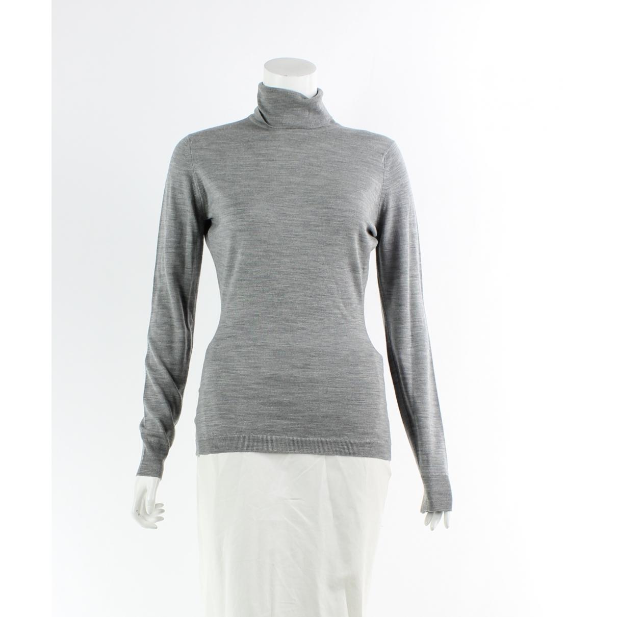 John Smedley - Chemises   pour homme en laine - gris