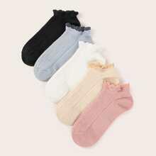 5 Paare Kopfsalat Trimm Sockchen