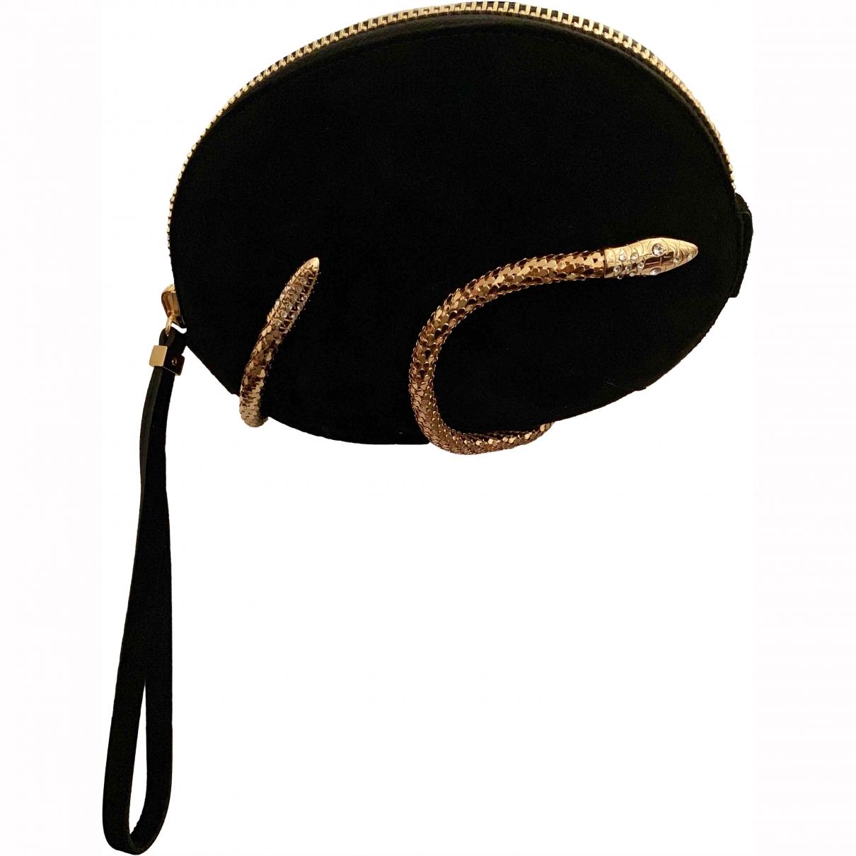 Giuseppe Zanotti \N Black Velvet Clutch bag for Women \N
