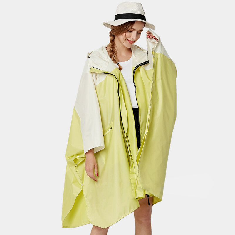 Fashion Windbreaker Raincoat Poncho Outdoor Clothes