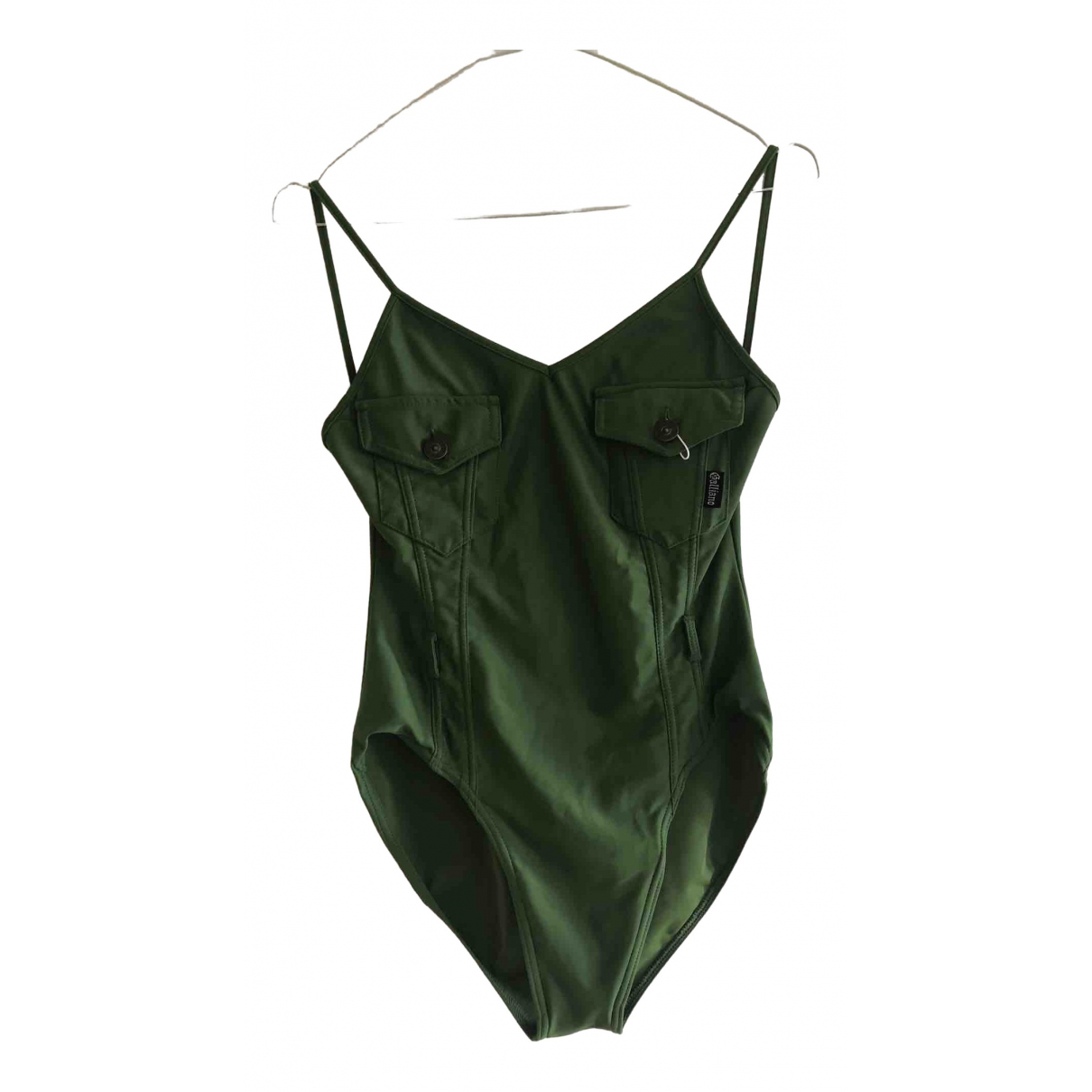 John Galliano \N Green Swimwear for Women 36 FR