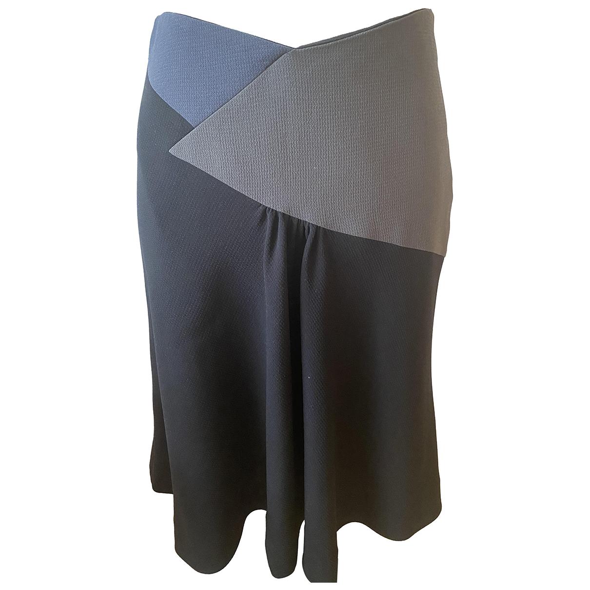 Emporio Armani N Black skirt for Women 40 IT