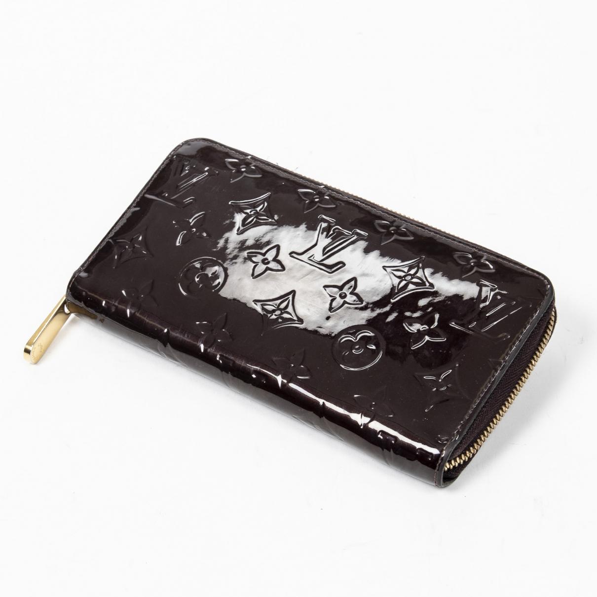 Louis Vuitton - Portefeuille Zippy pour femme en cuir verni - multicolore